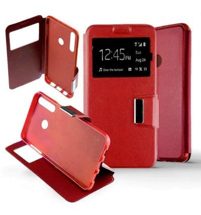 Etui Folio Huawei P Smart Plus 2019 - Rouge