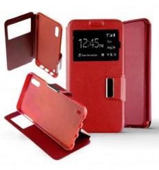 Etui Folio Samsung Galaxy A10 - Rouge