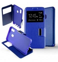 Etui Folio Samsung Galaxy A40 - Bleu