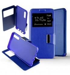 Etui Folio Samsung Galaxy A70 - Bleu