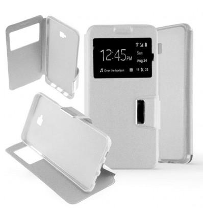 Etui Folio Samsung Galaxy J4 Plus 2018 - Blanc