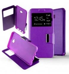 Etui Folio Samsung Galaxy J4 Plus 2018 - Violet