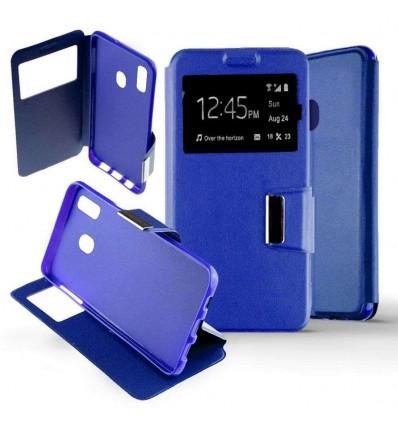 Etui Folio Samsung Galaxy M20 - Bleu