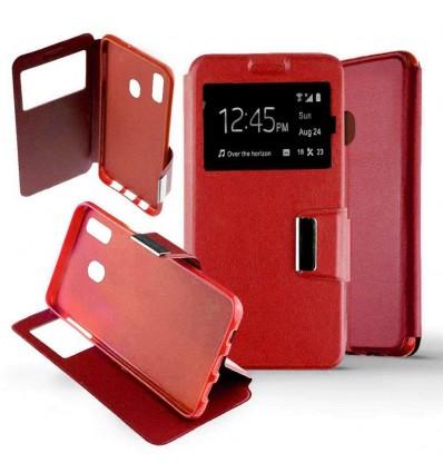 Etui Folio Samsung Galaxy M20 - Rouge