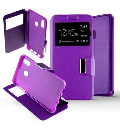 Etui Folio Samsung Galaxy M20 - Violet