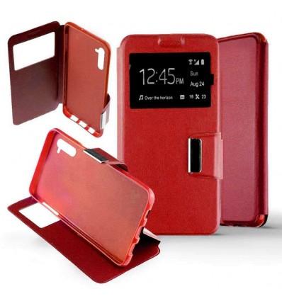 Etui Folio Samsung Galaxy Note 10 - Rouge
