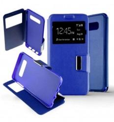 Etui Folio Samsung Galaxy S10 Plus - Bleu