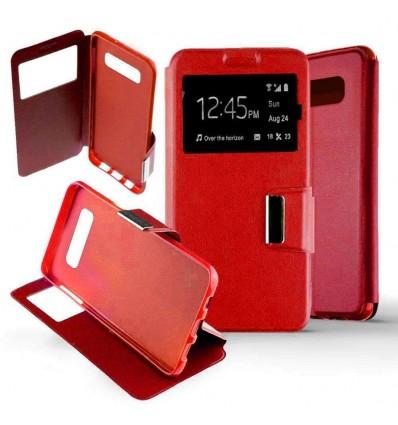 Etui Folio Samsung Galaxy S10 Plus - Rouge