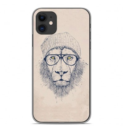 Coque en silicone Apple iPhone 11 - BS Cool Lion