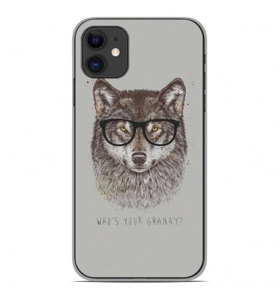 Coque en silicone Apple iPhone 11 - BS Granny