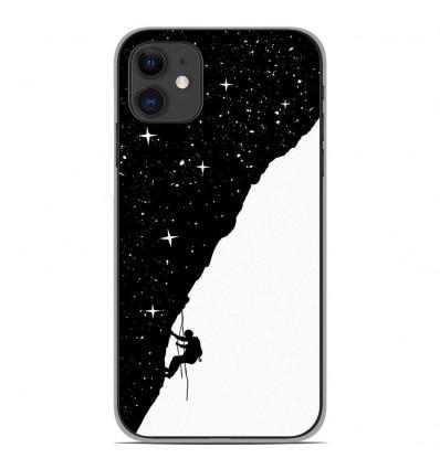 Coque en silicone Apple iPhone 11 - BS Nightclimbing