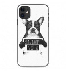 Coque en silicone Apple iPhone 11 - BS Normal boring