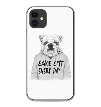 Coque en silicone Apple iPhone 11 - BS Same shit