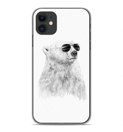 Coque en silicone Apple iPhone 11 - BS Sunny bear