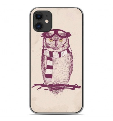 Coque en silicone Apple iPhone 11 - BS The aviator