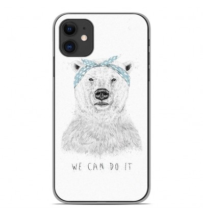 Coque en silicone Apple iPhone 11 - BS We can do it
