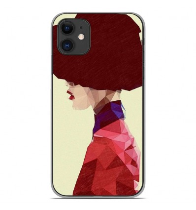 Coque en silicone Apple iPhone 11 - ML Chic Hat