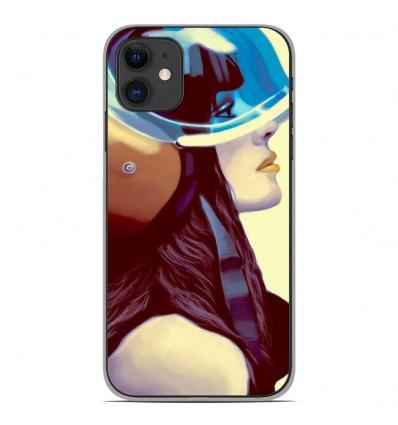 Coque en silicone Apple iPhone 11 - ML Helmetraus