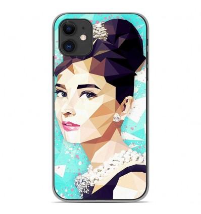 Coque en silicone Apple iPhone 11 - ML Hepburn