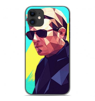 Coque en silicone Apple iPhone 11 - ML King of Cool
