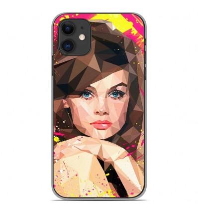 Coque en silicone Apple iPhone 11 - ML Vogue Muse
