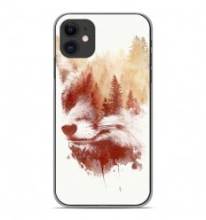Coque en silicone Apple iPhone 11 - RF Blind Fox