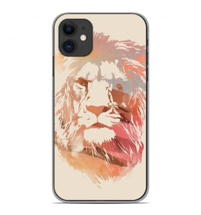 Coque en silicone Apple iPhone 11 - RF Desert Lion
