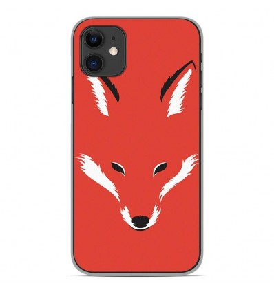 Coque en silicone Apple iPhone 11 - RF Foxy Shape