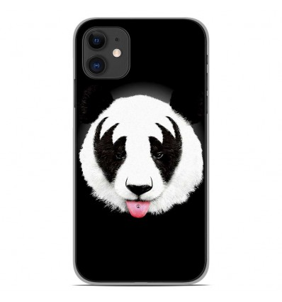 Coque en silicone Apple iPhone 11 - RF Kiss Of Panda