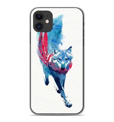 Coque en silicone Apple iPhone 11 - RF Lupus Lupus