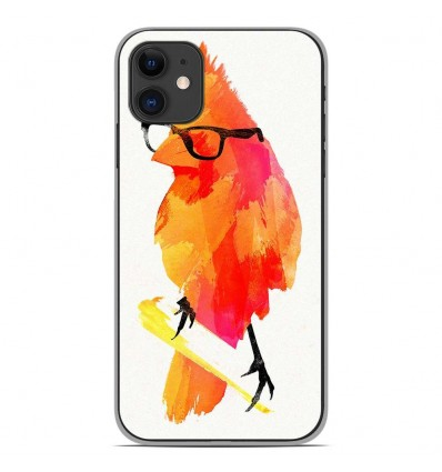 Coque en silicone Apple iPhone 11 - RF Punk Birdy