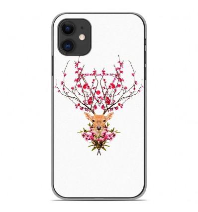 Coque en silicone Apple iPhone 11 - RF Spring deer