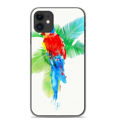 Coque en silicone Apple iPhone 11 - RF Tropical party