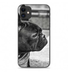Coque en silicone Apple iPhone 11 - Bulldog