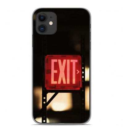 Coque en silicone Apple iPhone 11 - Exit