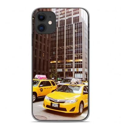 Coque en silicone Apple iPhone 11 - NY Taxi