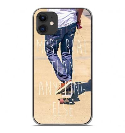 Coque en silicone Apple iPhone 11 - Real
