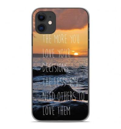 Coque en silicone Apple iPhone 11 - Sunshine