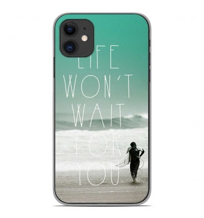 Coque en silicone Apple iPhone 11 - Surfer