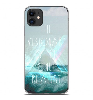 Coque en silicone Apple iPhone 11 - Visionary
