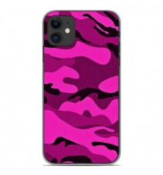 Coque en silicone Apple iPhone 11 - Camouflage rose