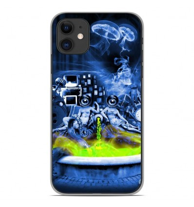 Coque en silicone Apple iPhone 11 - Fontaine