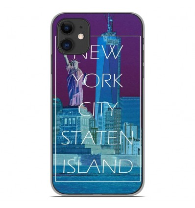 Coque en silicone Apple iPhone 11 - New york