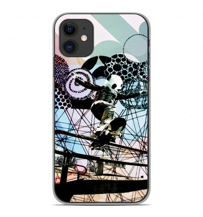 Coque en silicone Apple iPhone 11 - Panda skater