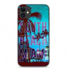 Coque en silicone Apple iPhone 11 - South beach miami