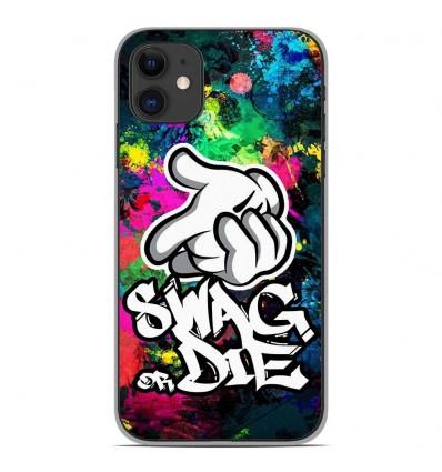 Coque en silicone Apple iPhone 11 - Swag or die