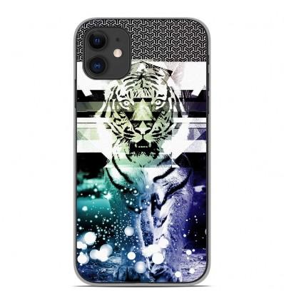 Coque en silicone Apple iPhone 11 - Tigre swag