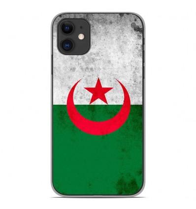 Coque en silicone Apple iPhone 11 - Drapeau Algérie