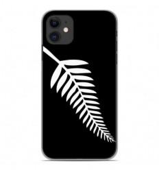 Coque en silicone Apple iPhone 11 - Drapeau All-black