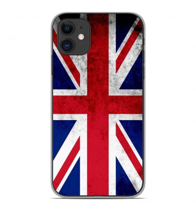 Coque en silicone Apple iPhone 11 - Drapeau Angleterre